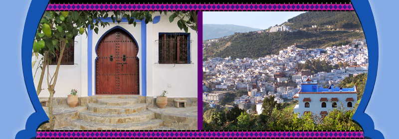 Maps of Chefchaouen and North of Morocco- Casa Linda